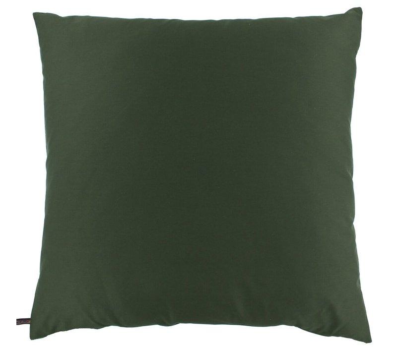Sierkussen Bibi Velvet Crane Dark Green