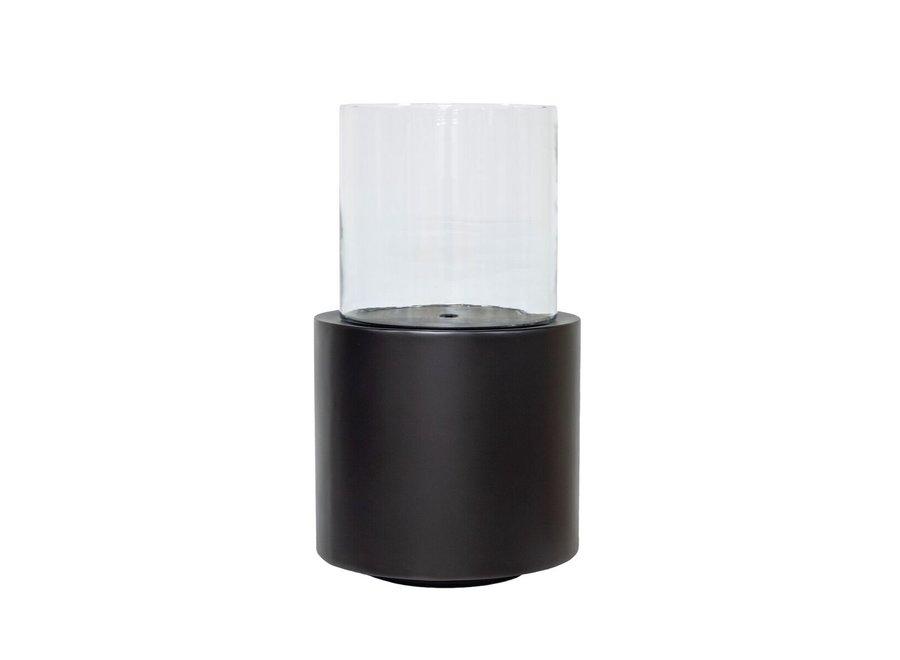 Design windlicht in de kleur Anthracite