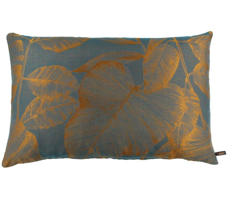 Cushion Caly Petrol / Copper