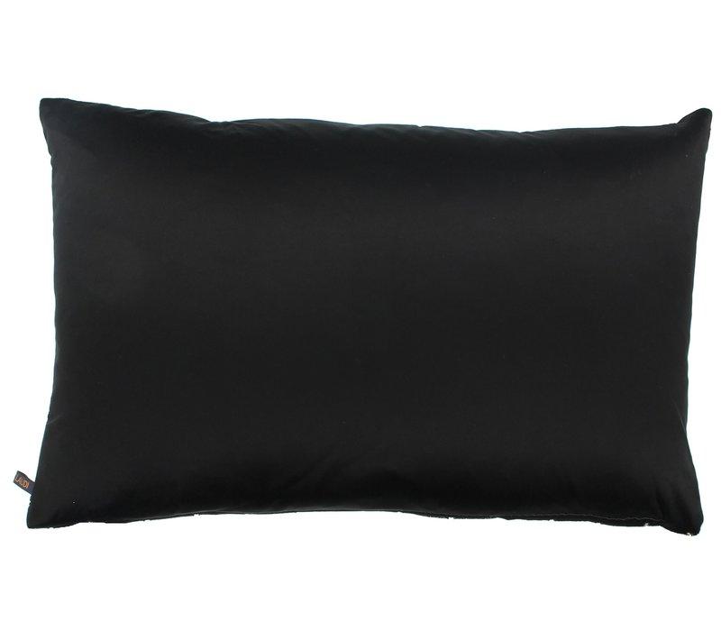 Cushion Petter Black Gold