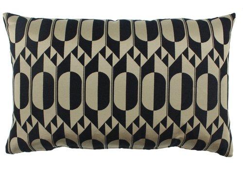 CLAUDI Cushion Midde Black Gold