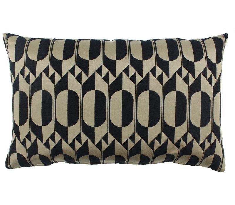 Cushion Midde Black Gold