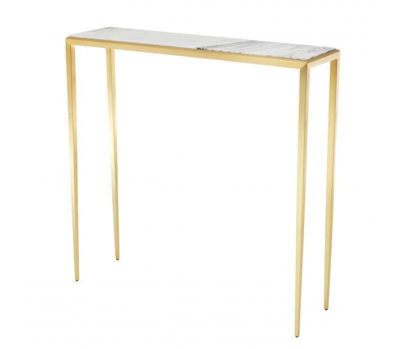 Design console tafel 'Henley' S Gold