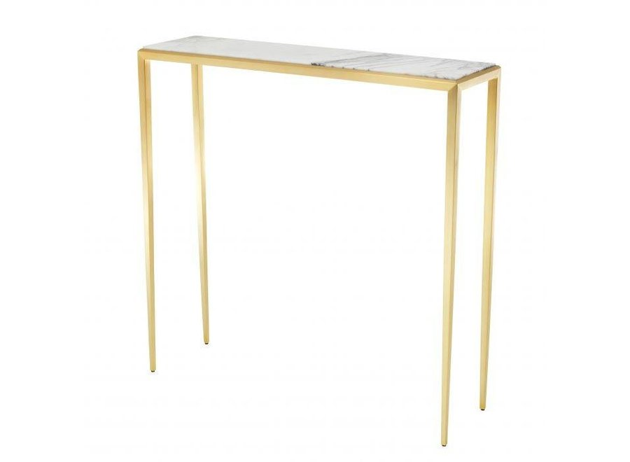 Design console tafel 'Henley' S - Gold