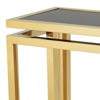 Console table 'Palmer' - Gold