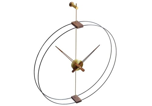 Nomon Design wall clock 'Mini Barcelona' Gold