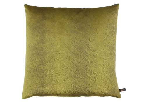 CLAUDI Cushion Perla Mustard