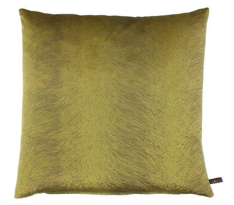 Cushion Perla color Mustard