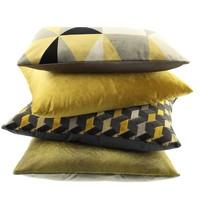 Cushion Paulina Mustard