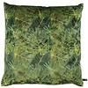 CLAUDI Cushion Dashing Leaves Ice Green + Gold