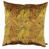 CLAUDI Zierkissen Dashing Leaves Ice Mustard + Copper