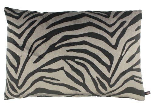 CLAUDI Throw pillow Morena Dark Taupe