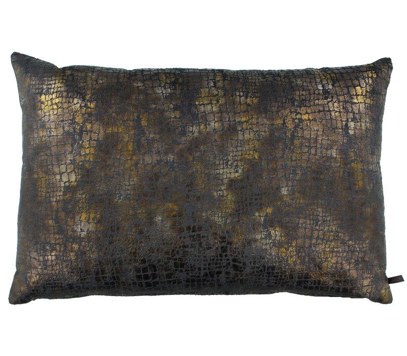 Zierkissen Vera Copper / Dark Taupe