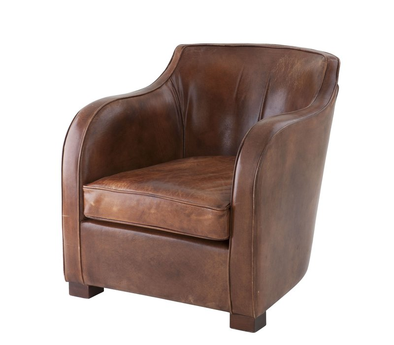 Club Fauteuil 'Berkshire' Tabacco Leather