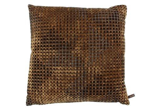 CLAUDI Cushion Lavé Camel