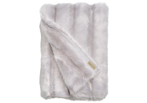 Winter-Home Faux fur plaid 'Angora Cat'