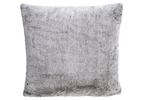 Winter-Home Cushion faux fur Karibu