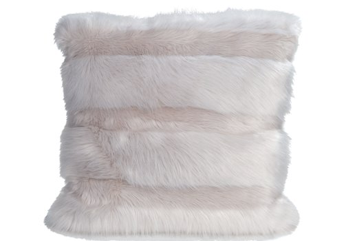 Winter-Home Cushion faux fur Angora Cat