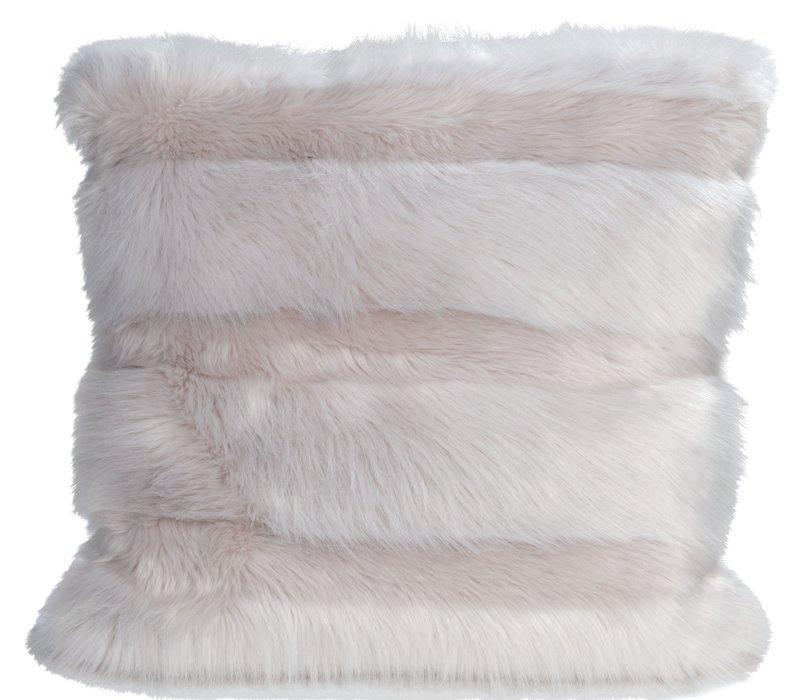 Cushion faux fur 'Angora Cat'