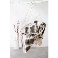 Cushion faux fur 'Jackrabbit'