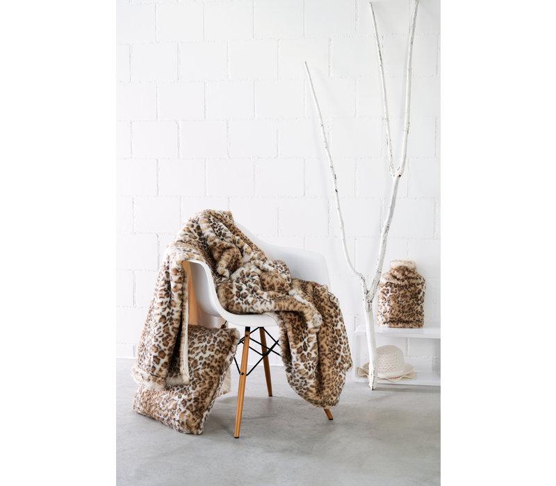 Felldecke 'Snow Leopard' in 140 x 200cm