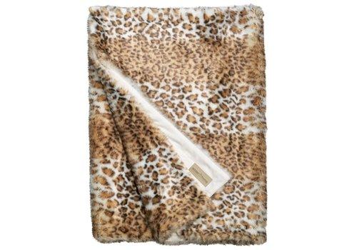 Winter-Home Felldecke - Snow Leopard