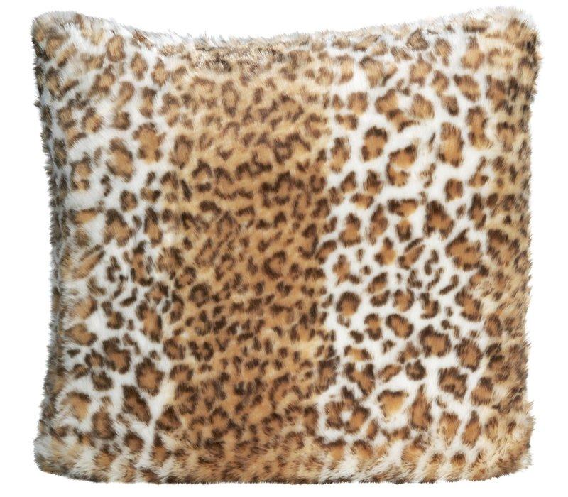 Kussen bont 'Snow Leopard'