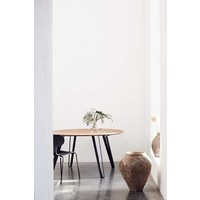 Extension leaf Space Natural round - oak