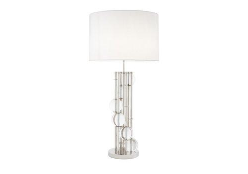EICHHOLTZ Tafellamp 'Lorenzo' Silver