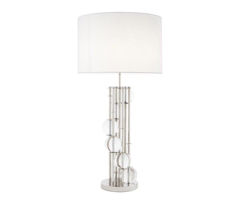 Table Lamp 'Lorenzo' Silver