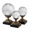 EICHHOLTZ Deco object 'Divani' set of 3 - Bronze