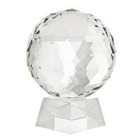 """Der Deko-Artikel """"Ruben"""" aus Kristallglas ist 25,5cm hoch."""