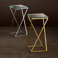 Side table 'Clarion' 23.5 x 23.5 x H. 51 cm