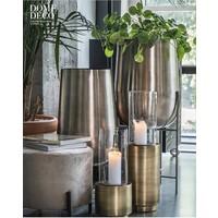 Vase planter silber - S