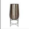 Dome Deco Vase planter silber - S
