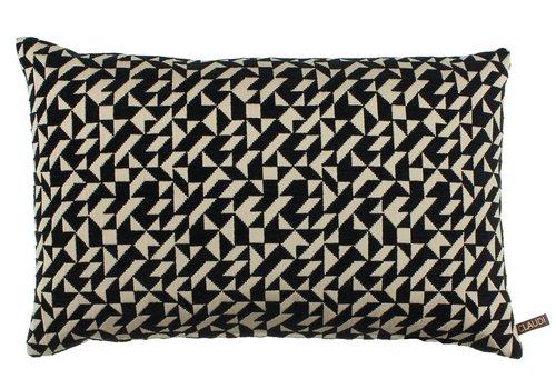 CLAUDI Cushion Ted Black / Gold