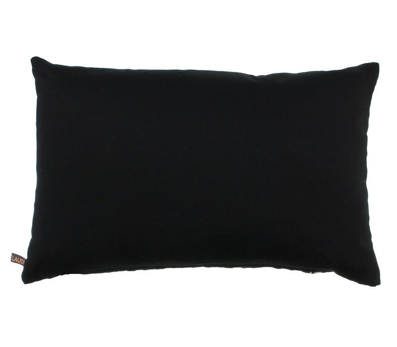 Cushion Ted Black / Gold