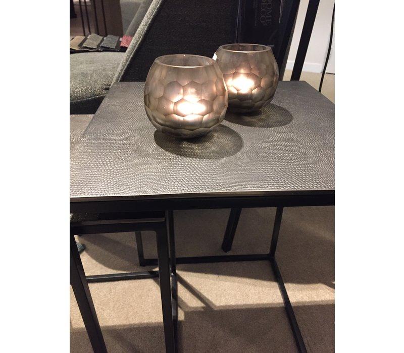 Rectangular End table Black Graphite