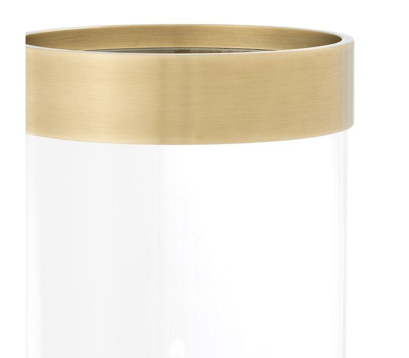 Windlicht 'Vertex L' Gold ø 20,5 x H. 41,5 cm