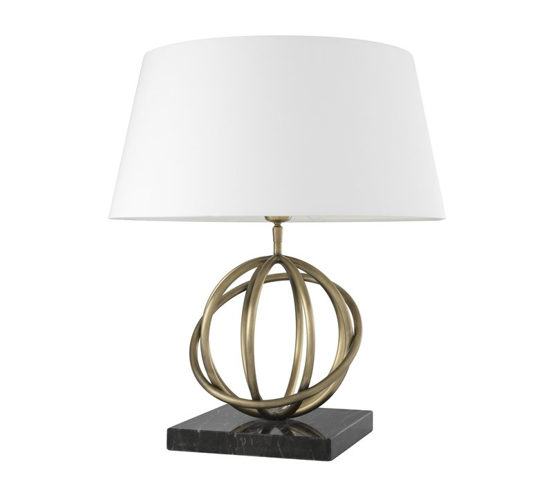 Table lamp 'Edition' Antique Brass