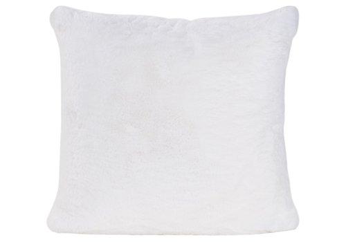 Winter-Home Kussen bont - Guanaco white