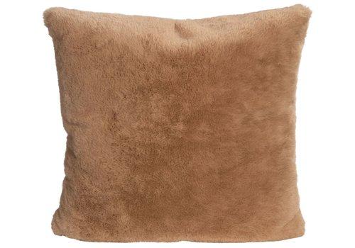 Winter-Home Kussen bont - Guanaco Camel