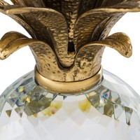 Decoration object 'Pineapple' Crystal glass