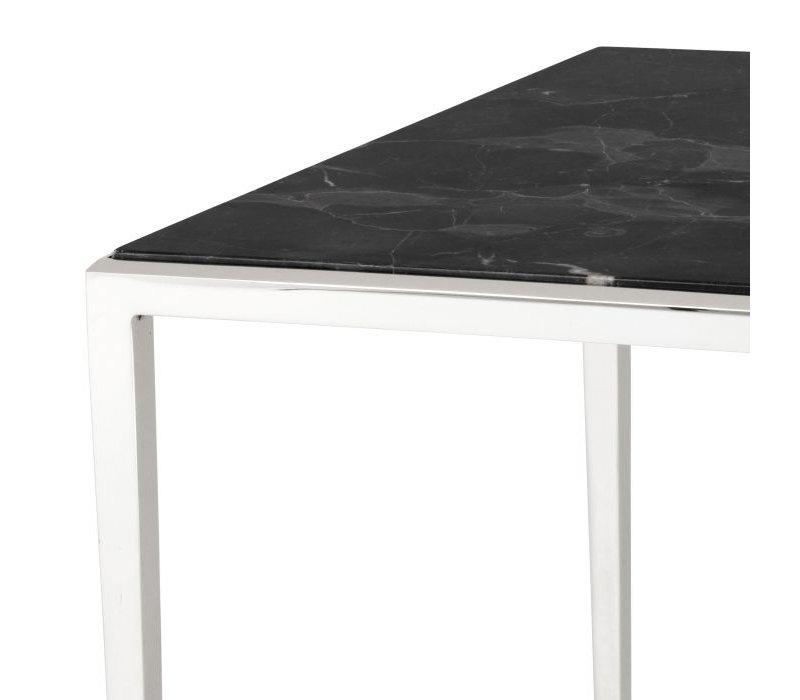 Design side table 'Henley' 60x60x58cm