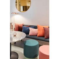 Kissen Kvadrat Orange - Blue