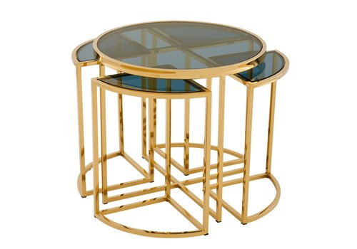 EICHHOLTZ Design side table 'Vicenza' Gold