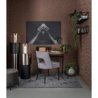 Die Tischlampe 'Matt Black' hat ein elegantes Design