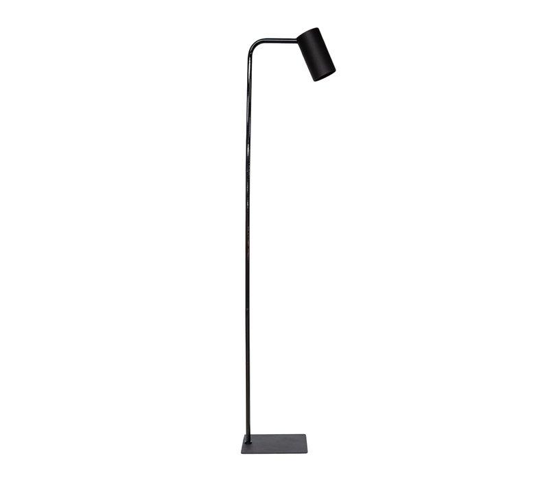 Die Stehlampe 'Matt Black' hat ein elegantes Design