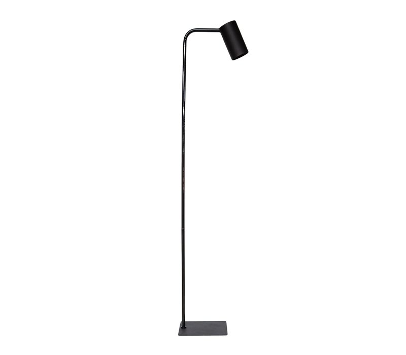 Floor lamp 'Matt Black' has an elegant design