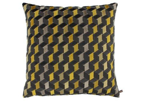 CLAUDI Cushion Fidelie Mustard